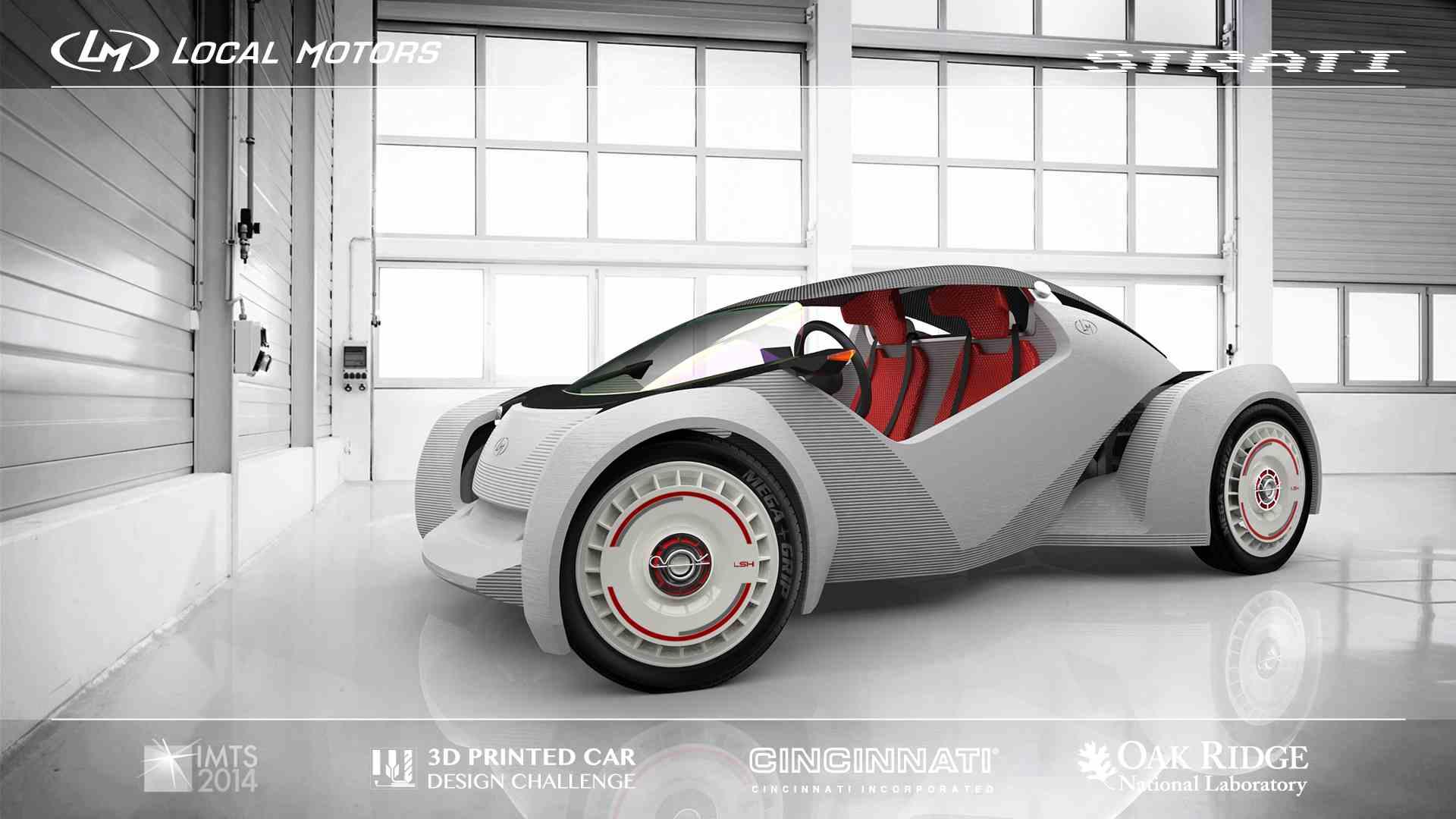Local Motors crea la Prima automobile al mondo stampata in 3D