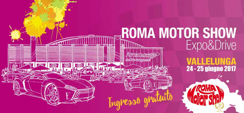 Al Via il Roma Motor Show: 70 Anni e non dimostrarli!